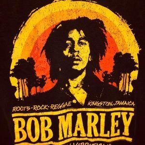 BOB MARLEY mens ZION tee shirt 👕